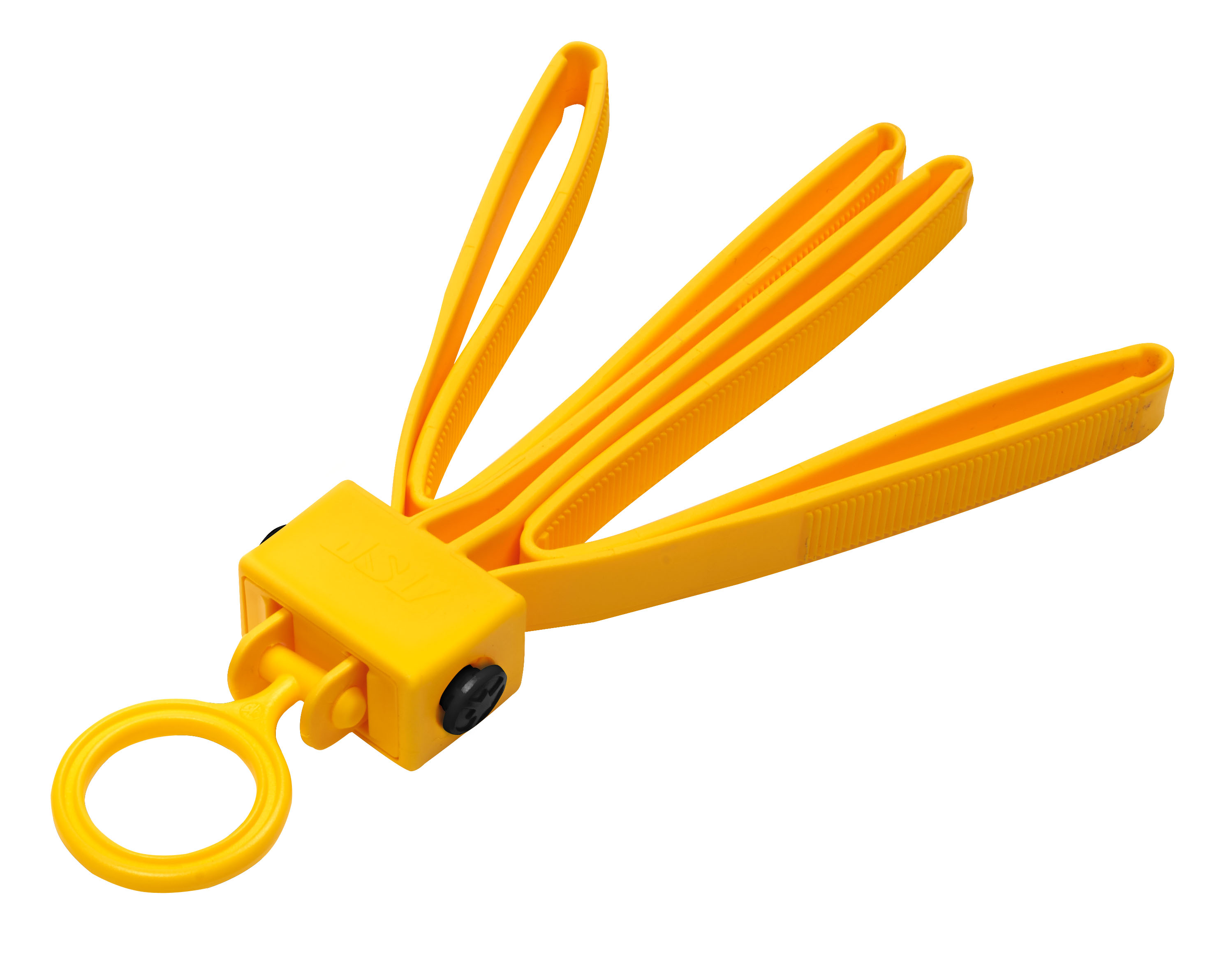 ASP Tri-Fold Restraints Yellow- 56190 Einweghandfessel (6 Stk.)