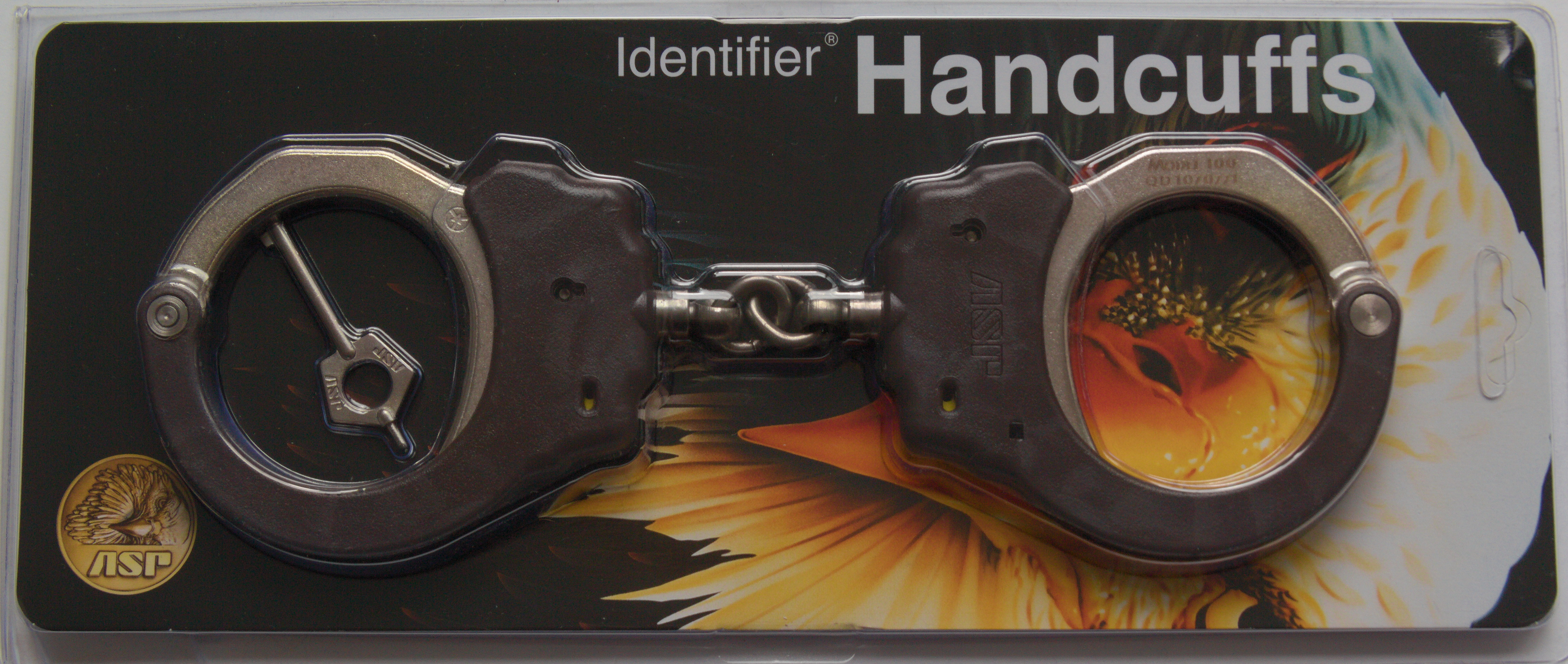 ASP Identifier Chain Flex Cuffs Brown - 56105 / Model 100 Braun