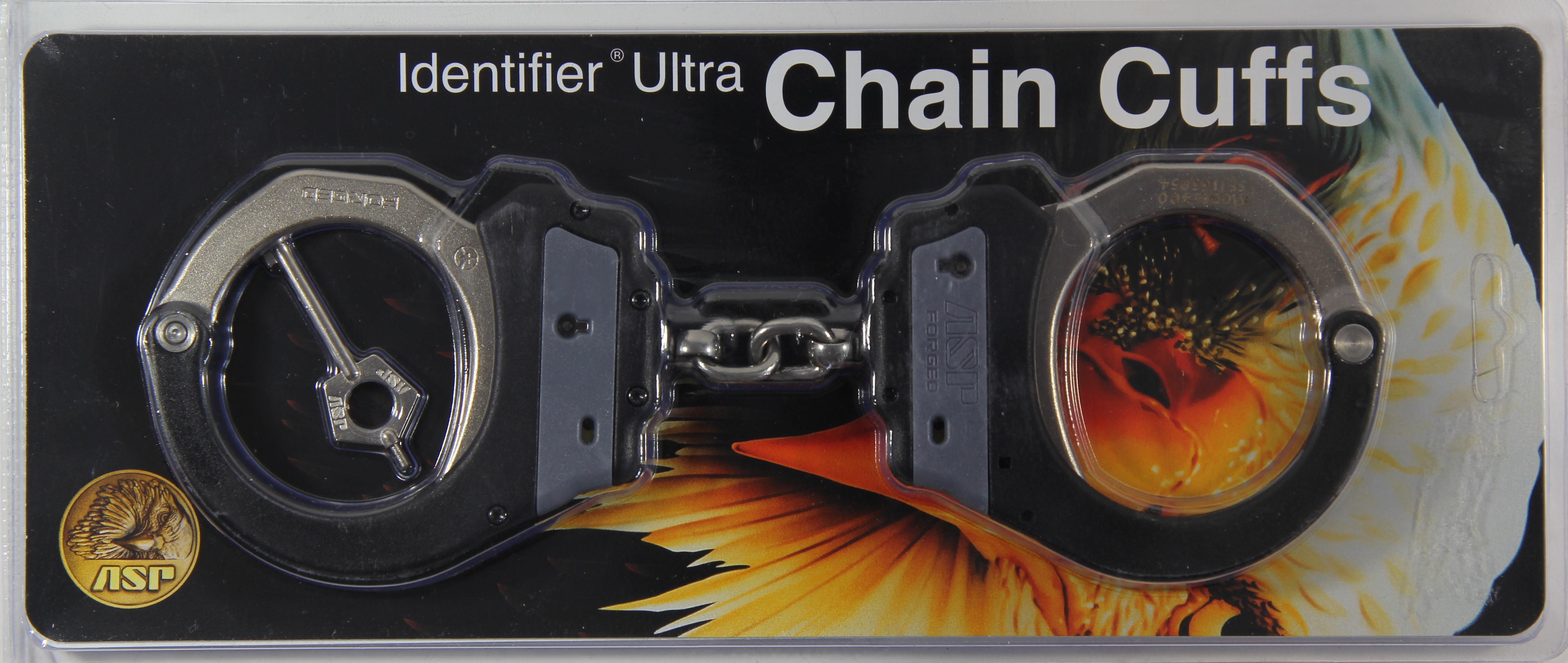 ASP Identifier Chain Ultra Cuffs Steel Grey (3Pawl) - 66002 / Model 400 Grau