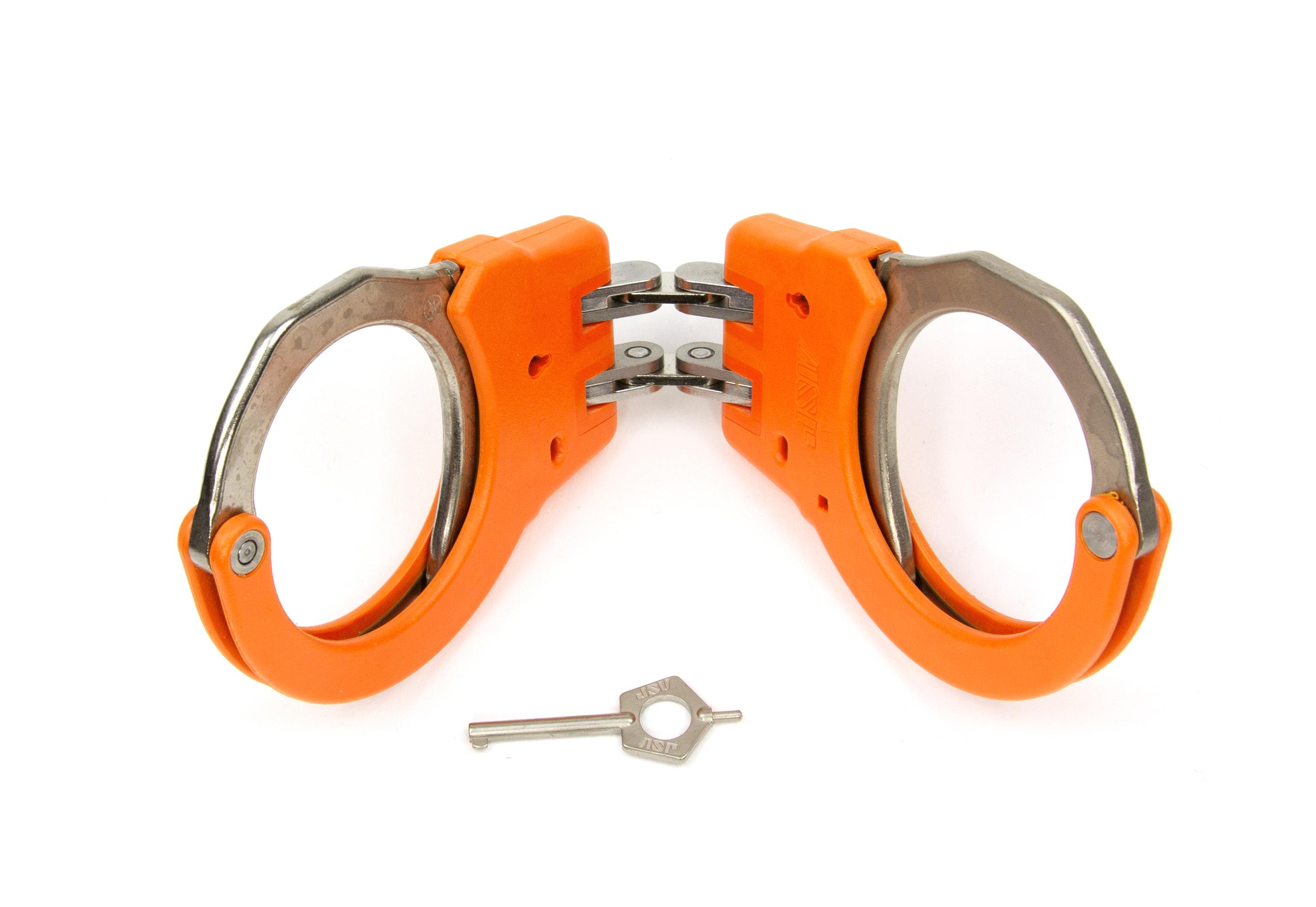 ASP Identifier Hinge Flex Cuffs Orange - 56116 / Model 200 Orange